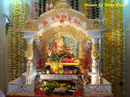 temple decoration ideas for home happy ganesh chaturthi 2014 ganesh chaturthi decoration ideas for home