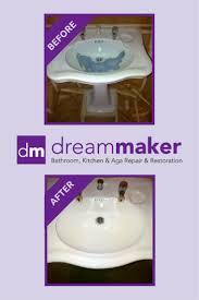 damaged wash basin repair by plastic surgeon damaged basin and