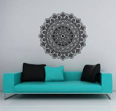 Amazon Wall Murals by Wall Decals Mandala Ornament Indian Geometric Moroccan Pattern