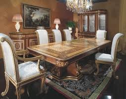 Italian Dining Room Furniture Italian Style Dining Room Furniture Custom Italian Versace Dining