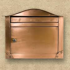 nickel mailbox wall mount special lite vertical contemporary wall mount mailboxwall mailbox
