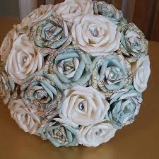 theme wedding bouquets vintage map travel theme wedding paper origami flower bouquet jute