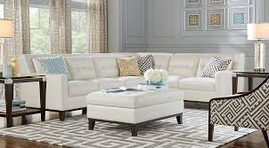White Leather Living Room Set Leather Living Room Sets Furniture Suites
