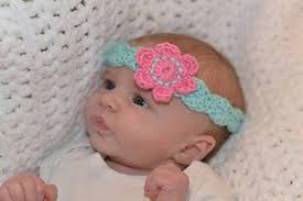 crochet baby headband flower headband crochet pattern kerry jayne designs
