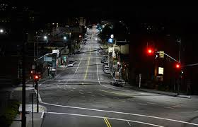 ge evolve led roadway lighting ge s evolve led street lighting brings energy and cost savings to