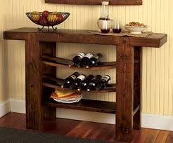 Dining Room Table With Wine Rack Wine Bottle Storage Equipped Pleasing Dining Room Cabinet With