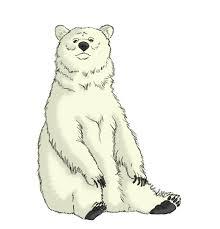 polar bear coloring kesshi deviantart