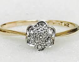 antique engagement rings uk engagement rings vintage etsy uk