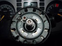 illustrated tilt steering column disassembly