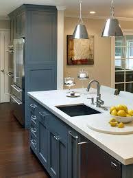 kitchen island with raised bar sinks bar prep sink kitchen island rustic ideas basement bar