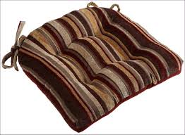 dining room chair pads with ties kitchen room marvelous dark brown chair cushions square seat