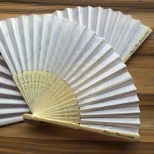 custom paper fans personalised weeding fans 0 80 silk fans paper fans