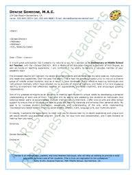 teacher cover letter resume examples templates teacher cover