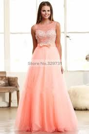 loving dresses sweet party dresses a line tulle floor length bowtie