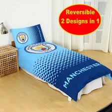 Duvet Club Manchester City Fade Single Duvet Stamp1600 Football Club
