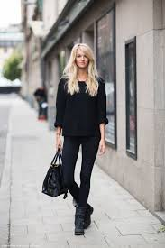all black casual all black a definitive list of comfy and casual style