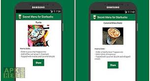 starbucks app android complete starbucks secret menu for android free at apk