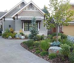 Garden Driveway Ideas Driveway Landscape Ideas A Nicely Done Front Yard Rock Garden