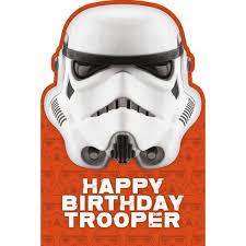 star wars happy birthday trooper birthday card partyware ireland