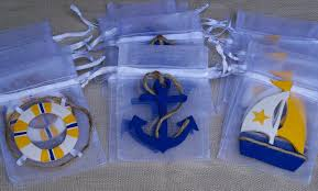 nautical theme baby shower party favors decorating of party
