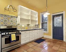 Kitchen Colors With White Cabinets Backsplash Ideas For White Kitchen Cabinets Home Design And