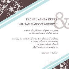 wedding invitation exle unique wedding invitation template best template collection
