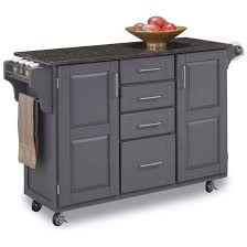 create a cart kitchen island home styles large create a cart 53 w x 18 d x 36 h gray