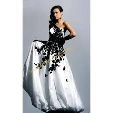 robe de mari e noir et blanc robe mariée et blanche photos de robes
