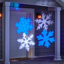 philips cool white and blue led snowflake motion