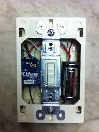 wireless wall light switch light switch xbee exle rob faludi