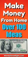 Make Money At Home Ideas 1308 Best Money Making Ideas U0026 Tips Images On Pinterest Extra