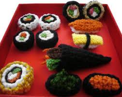 sushi ornament etsy