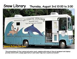 animal adventures at snow library events in orleans cape cod