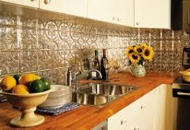 Install A Pressed Tin Backsplash  Canadian Home Workshop - Tin backsplash