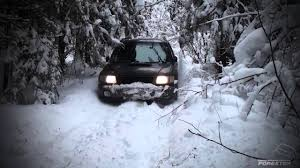 Subaru Forester Deep In Snow Youtube