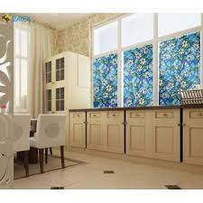 faux stained glass kitchen cabinets bofeifs beautiful faux stained glass window cling no