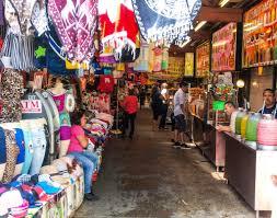 Map De Los Angeles by Walking Through The Stall Into El Mercado De Los Angeles Flickr