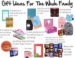 ideas for family christmas gifts or by dollar store last minute