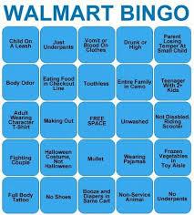 walmart bingo we to play this at work omg
