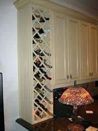 White Kitchen Base Cabinets Wine Rack Kitchen Base Cabinet With Wine Rack White Kitchen