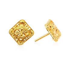bengali earrings gold earrings best price senco gold and diamonds