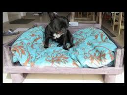 canape pour canapé pour chien en palette