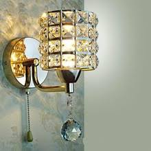 Pull Chain Sconce Compare Prices On Crystal Sconces Lighting Online Shopping Buy