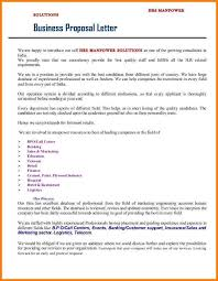 sample business proposal letter for manpower services cover