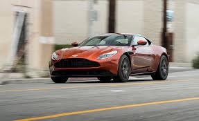 green aston martin db11 2017 aston martin db11 test review car and driver