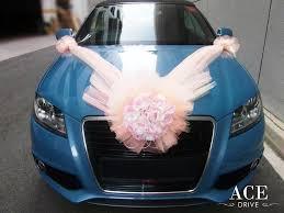 Wedding Car Decorations Audi A3 Wedding Car Decorations By Ace Drive Car Rental