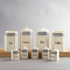 vintage ceramic kitchen canister set 65 00 via etsy home