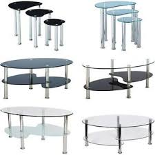Cara Coffee Table Cara Furniture Range Coffee Table Nest Of 3 Tables Glass Top