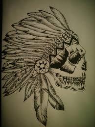headdress skull by jaguarchild on deviantart