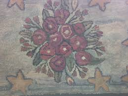 Rug With Stars Nutting House Antiques New Paltz New York Antiques Folk Art